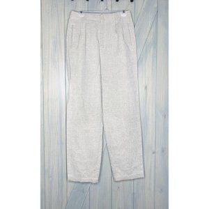 LizSport Liz Claiborne Linen High Waist Pants